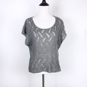 Mossimo Supply Co. Loose Knit Short Sleeve Sweater